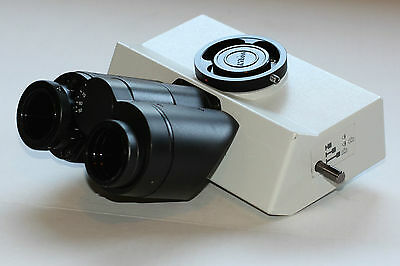 Olympus Microscope U-tr30-2 Trinocular Head For Bx Series Mint Condition