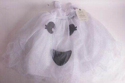 Kids Light Up Halloween Costume (NWT Pottery Barn Kids Light Up Ghost tulle dress Halloween costume)