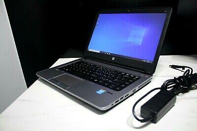 "HP ProBook 640 G1 i5-4200M 2.50GHz 8GB 500GB HDD DVD/RW Wifi 14.0"" Webcam Win10, usado segunda mano  Embacar hacia Mexico"