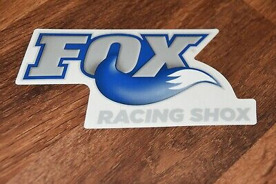 Fox Racing Pair of Sticker Decal Foxhead Sticker 2.5 Inch Blue 14897