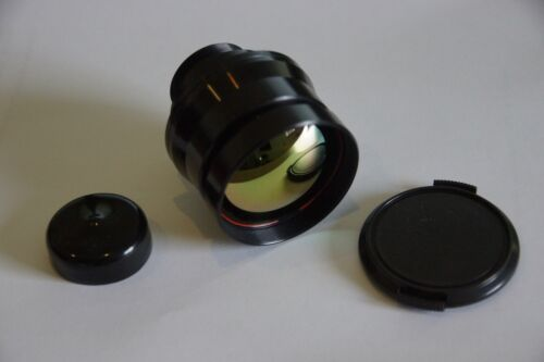 Lens Objektiv 50mm Wärmebildkamera Thermal camera LWIR F1.2 - 93% Transm. M34