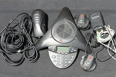 Polycom Soundstation 2 2201-16200-601 Expandable Conference Call Phone W Mics