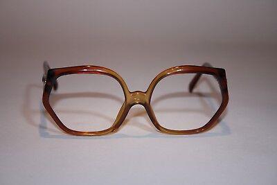 DIOR 2015-10 Optyl Bernsteinfarben Vintage Damenbrille