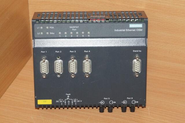 SIEMENS Industrial Ethernet OSM 6GK1105-0AA00 // 6GK1 105-0AA00