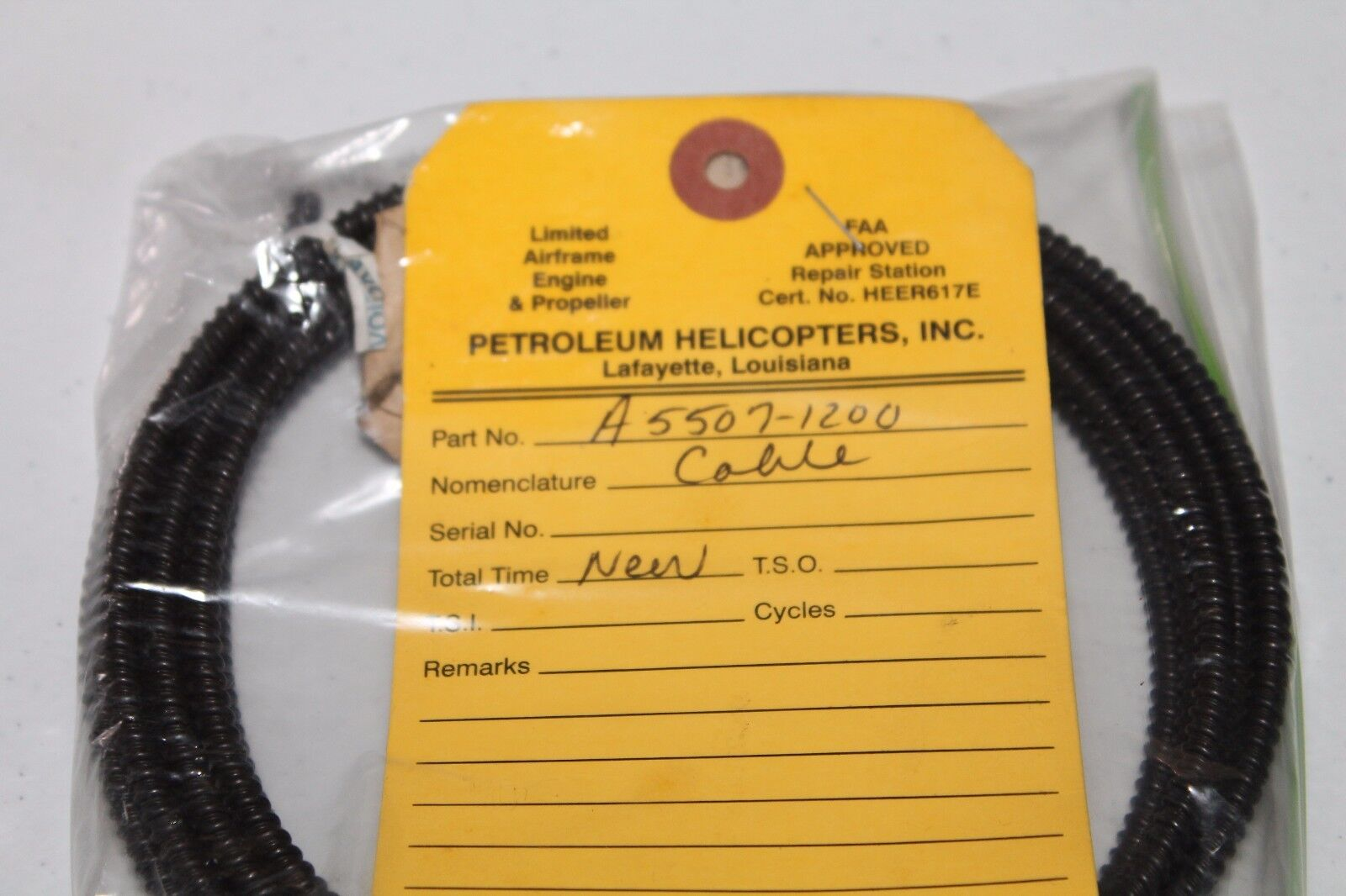 Helicopter Cable A5507-120