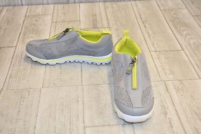 **Propet TravelActiv Zip Athletic Sneakers - Women's Size 7D - Gray/Lime ()