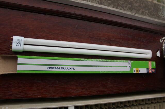 Osram Dulux L Lumilux 2G11 55w/830 4-pin CFL bulb lamp 3000k warm white 4800lm