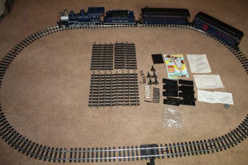 Vintage G-Scale Bachmann Big Hauler Royal Blue Train Set in Box w/ 4-6-0 Engine