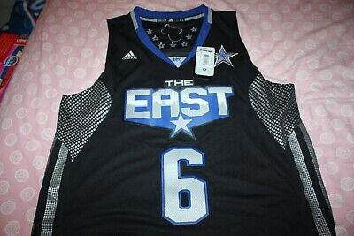 2011 NBA All Star The East #6 Miami Heat LeBron James Adidas Swingman Jersey L
