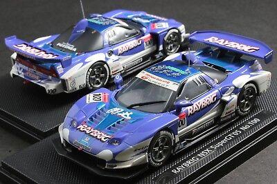 EBBRO 43691 1:43 SCALE RAYBRIG HONDA NSX SUPER GT 2005 DIE CAST MODEL RACING CAR