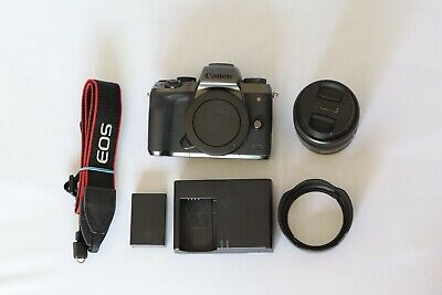 Canon EOS M5 24.2MP Mirrorless with 15-45 lens