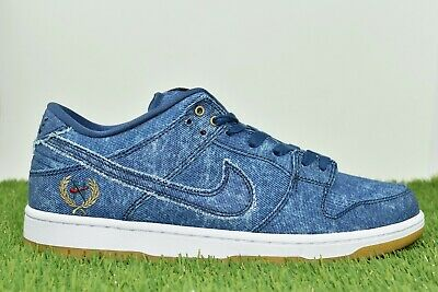 pick up bd87c 8f1fb Nike SB Dunk Low TRD QS Size 7 Rivals Pack East Binary Blue Denim 883232 441