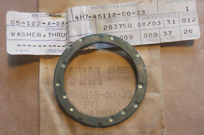 <em>YAMAHA</em> XJ650  XJ750  XV VIRAGO NOS DRIVE SHAFT THRUST WASHER    4H7 4