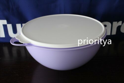 Tupperware Thatsa Mixing Bowl 32 Cup Lilac Light Purple New in Package