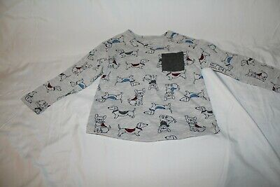 Little Me 18 M Boys Cute Dogs Long Sleeve Shirt