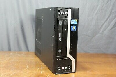 Acer x498g SFF Gaming Desktop PC Intel i5-750 2.67 Quad 8 GB 500 GB AMD HD7570