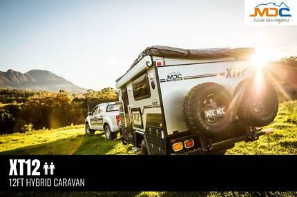 2018 MDC XT12 HYBRID OFFROAD CARAVAN Edge Hill Cairns City Preview