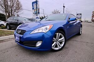 2011 Hyundai Genesis Coupe PREMIUM AUTOMATIC LEATHER AND SUNROOF