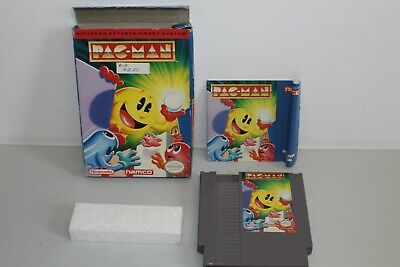 Namco Pac-Man Complete NICE Box Nintendo NES CIB Licensed 1991