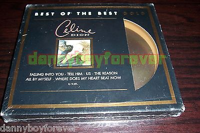 Celine Dion Limited Gold Edition Sony Cd The Best Of New Factory Sealed