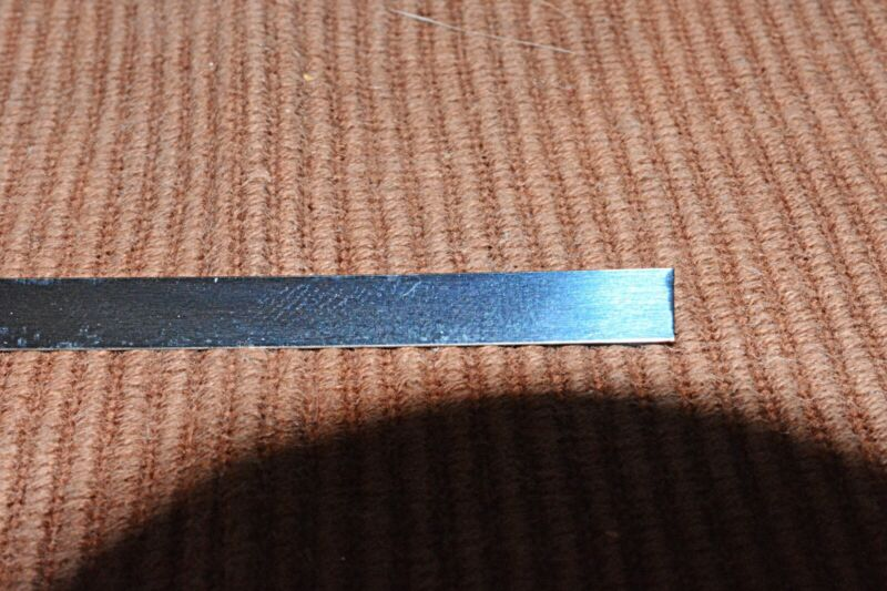 """BLUE STEEL SPRING/SHIM STOCK 0.012"""" Thick x .250"""" Wide - BY THE FOOT"""