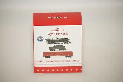 2015 Hallmark Miniature Lionel 2148WS Deluxe Pullman Set