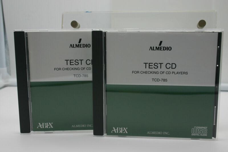 ABEX TEST CD/TCD-785 MEETS EIAJ CP-2403 REQUIREMENTS