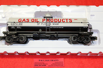 3005511 Gas-Oil Products Of Florida 11,000 Gallon Tank Car 3 Rail NEW IN BOX