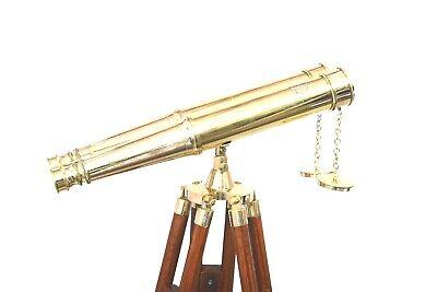 "BR4852B 15/"" Brass Telescope"