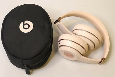 BEATS BY DR. DRE SOLO3 WIRELESS BLUETOOTH ON-EAR HEADPHONES - SATIN GOLD