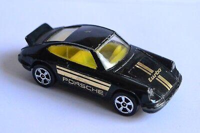 Rare 1980's vintage Corgi Juniors 139  black Porsche Carrera turbo