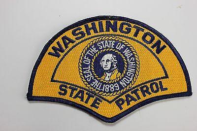 Washington State Patrol Shoulder Patch Vintage Unused