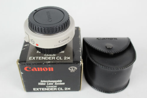 Canon Video Lens EXTENDER CL 2X, VL-EX, Case and Box