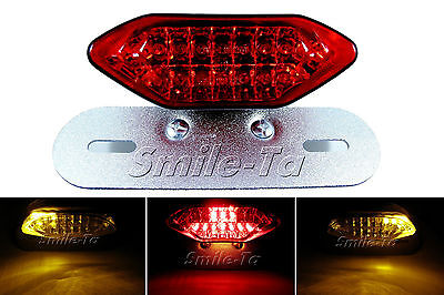 Motorcycle LED Stop Tail Light w/ Turn Signal Honda Streetfighter / Cafe Racer