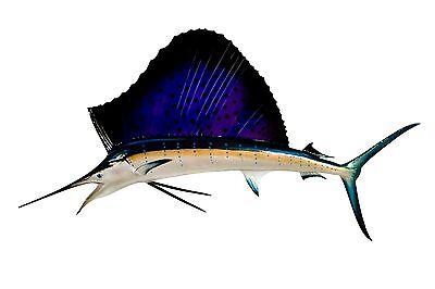 58  Sailfish Half Mount Fish Replica