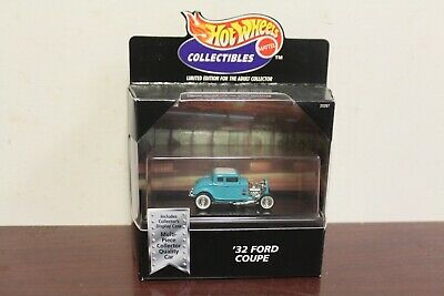Hot Wheels Collectibles Black Box '32 Ford Coupe Turquoise LE