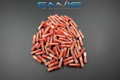 18-22 Gauge 25 Pk Nylon Fully Insulated Quick Disconnect Female .110 Terminal