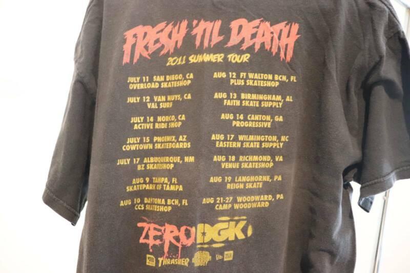 ZERO & DGK Skateboards Tour T-shirt   Tops   Gumtree