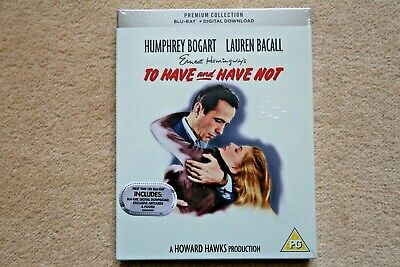 BLU-RAY TO HAVE AND HAVE NOT   PREMIUM EXCLUSIVE EDITION NEW SEALED UK STOCK Blue Haven
