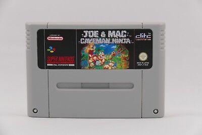 Joe & Mac Caveman Ninja - TOP Adventure für den Super Nintendo / SNES