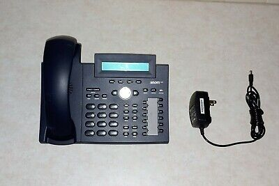 Snom 320 Sip 4 Line Business Voip Phone With Caller Id - Black