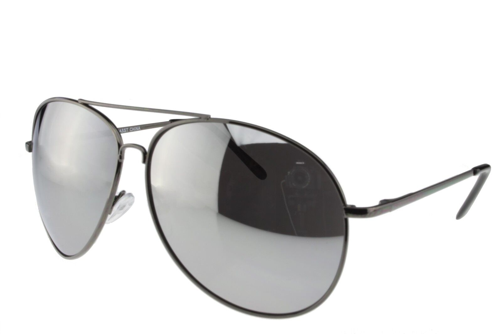 69d8f56d71 Details about Extra Large Sunglasses Aviator Women Men Oversized Big Gun  Frame Mirror Lens