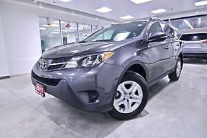 2015 Toyota RAV4  LE ORIGINAL RHT VEHICLE, ONE OWNER, CLEAN, CAR