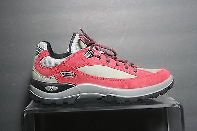 Lowa Tempest Lo Lady Hiking Shoe Multi Red Grey Women 10 Trail Athletic Leather