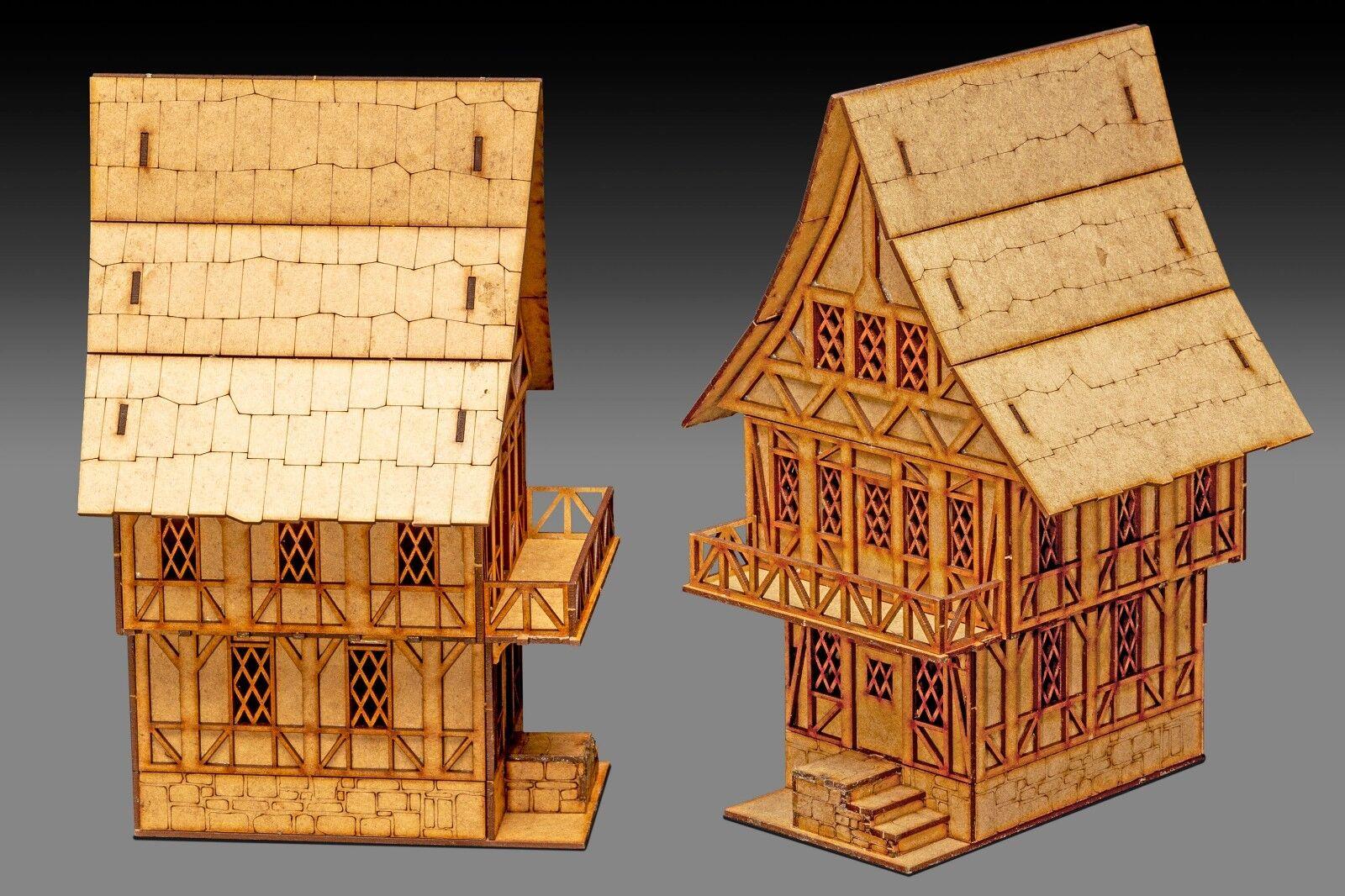 28mm Fantasy Gaming Scenery Buildings T1