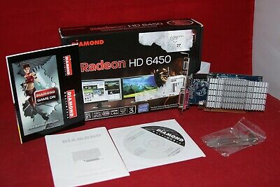 Diamond AMD Radeon HD 6450, 1Gb, PCI-Express x16 2.1 Graphics Card