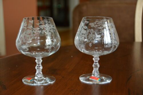 Fostoria Navarre Clear Brandy Snifter Glass 5 5/8 inches - New Condition Vintage