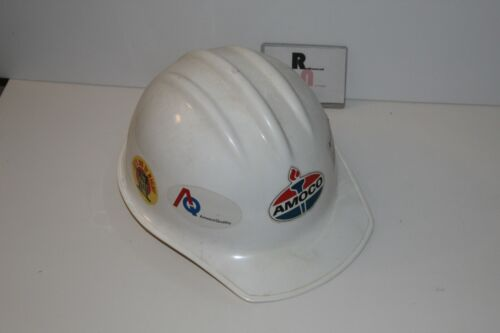 AMOCO Oil Hat Helmet RARE With Decals