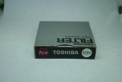 TOSHIBA FILTER HIGH quality 52  mm  FL-W