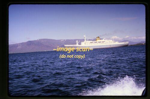 1970 SS Statendam Holland America Line Passenger Ship, Original Slide c22b